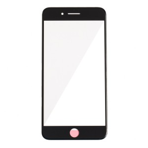 """Glass Lens for iPhone 7 Plus (5.5"""") - Black"""