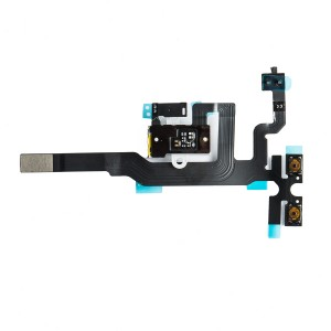 Headphone Jack Flex Cable for iPhone 4S - White