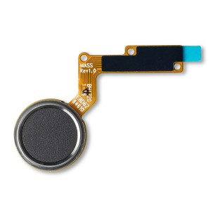 Home Button Flex Cable for LG Stylo 3 Plus (Genuine OEM) - Black
