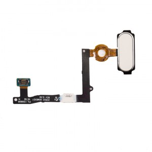 Home Button Flex Cable for Samsung Galaxy S6 Edge Plus (w/ Fingerprint Scanner) - White
