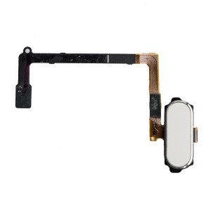 Home Button Flex Cable for Samsung Galaxy S6 (w/ Fingerprint Scanner) - White