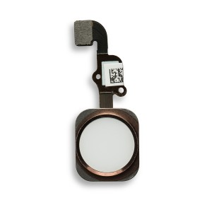Home Button Flex Cable for iPhone 6S Plus - Rose Gold (No Touch ID)