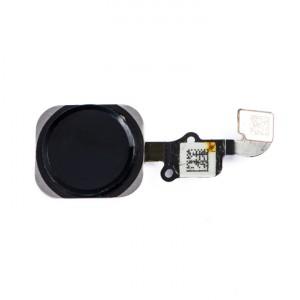 "Home Button Flex Cable (w/ Fingerprint Scanner) for iPhone 6 (4.7"") - Black (Fingerprint scanner is aftermarket - biometrics may not work)"