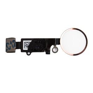 "Home Button Flex Cable (w/ Fingerprint Scanner) for iPhone 7 Plus (5.5"") - Rose Gold (Fingerprint scanner is aftermarket - biometrics may not work)"
