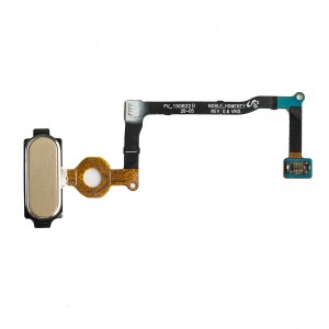 Home Button Flex Cable for Galaxy Note 5 - Gold