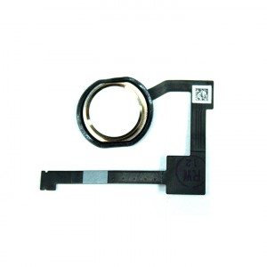 Home Button Flex Cable for iPad Air 2 - Gold (No Touch ID)