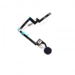 Home Button Flex Cable for iPad Mini 3 - Black (No Touch ID)