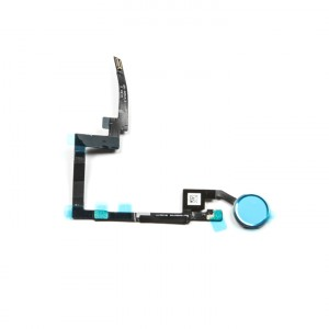 Home Button Flex Cable for iPad Mini 3 - Silver (No Touch ID)