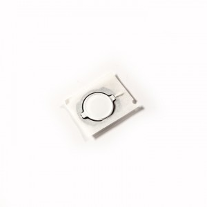 Home Button (w/ Rubber Gasket) for iPod Touch 4th Gen (Generic) - White
