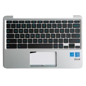 Keyboard / Palmrest (OEM) for Asus Chromebook 11 C202