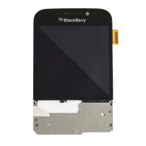 LCD & Digitizer Frame Assembly for BlackBerry Q20 - Black
