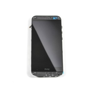 LCD & Digitizer Frame Assembly for HTC One M8 - Black