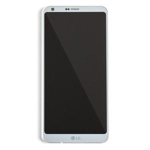 LCD & Digitizer Frame Assembly for LG G6 - Platinum