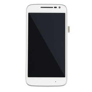 LCD & Digitizer Frame Assembly for Motorola Moto G4 Play (XT1609) (Authorized OEM) - White