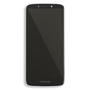 LCD & Digitizer Frame Assembly for Motorola Moto G6 Play (XT1922) (Authorized OEM) - Gray