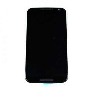 LCD & Digitizer Frame Assembly for Motorola Moto X (2nd Gen) (XT1096) - Black
