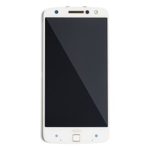 LCD & Digitizer Frame Assembly for Motorola Moto Z Force Droid (XT1650-02) (Authorized OEM) - White