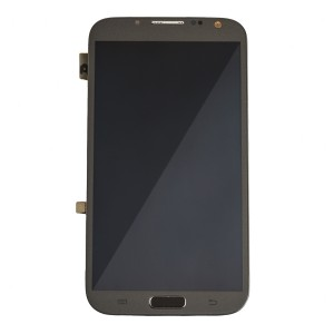 LCD & Digitizer Frame Assembly for Samsung Galaxy Note 2 (I605 / L900) (MDSelect - Generic) - Titanium Grey