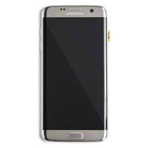 LCD & Digitizer Frame Assembly for Samsung Galaxy S7 Edge (PrimeParts - OEM) - Gold