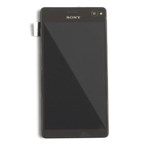 LCD & Digitizer Frame Assembly for Sony Xperia C4 (E5303 / E5306 / E5353) - Black