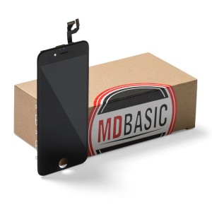 "LCD & Digitizer Frame Assembly for iPhone 6S (4.7"") (mdBasic) - Black (Bulk pricing available for sets of 5 screens)"