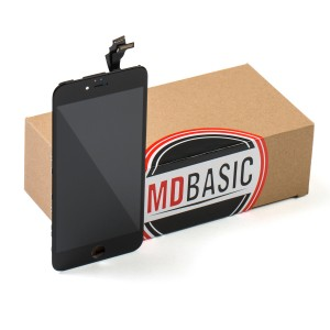 """LCD & Digitizer Frame Assembly for iPhone 6 Plus (5.5"""") (MDBasic) - Black (Bulk pricing available for sets of 5 screens)"""