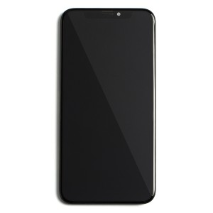 LCD & Digitizer Frame Assembly for iPhone X (PrimeParts - Premium) - Black