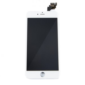 """LCD & Digitizer Frame Assembly (w/ Front Cam & Prox. Sensor & Ear Speaker) for iPhone 6 Plus (5.5"""") (MDSelect) - White"""