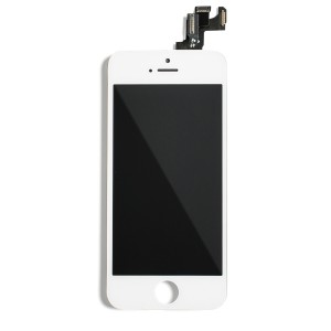 LCD Frame Assembly with Small Parts for iPhone SE (EXPRESS) - White