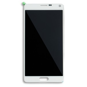 LCD & Digitizer for Samsung Galaxy Note 4 (OEM - Refurbished) - Frost White