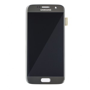 OLED Display Assembly for Galaxy S7 (OEM - Service Pack) - Silver Titanium