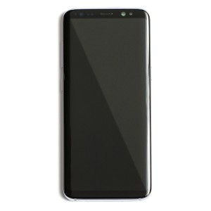 OLED Frame Assembly for Galaxy S8+ (OEM - Service Pack) - Orchid Gray