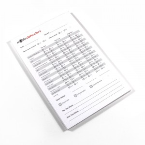 MD Testing Sheets (Pad of 50)