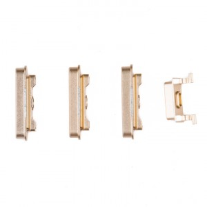 """Power & Volume & Mute Button Set for iPhone 6 (4.7"""") - Gold"""