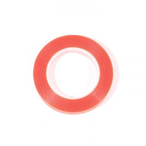 Premium Double Sided Red Tape (12mm)