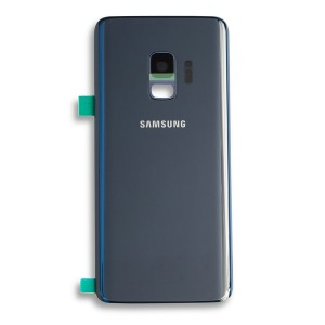 Back Glass for Samsung Galaxy S9 (w/ Adhesive) (Prime - OEM) - Coral Blue