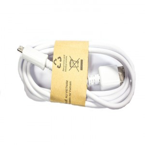Micro USB Data Cable - White