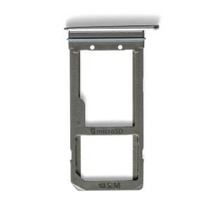 Sim Card Tray for Galaxy S7 Edge - Black