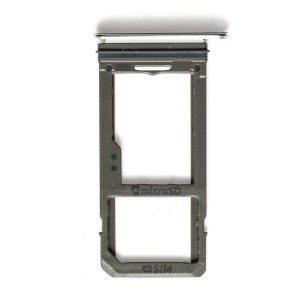 Sim Tray for Samsung Galaxy S8+ - Arctic Silver