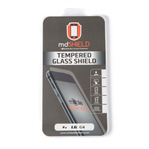 Tempered Glass Shield (0.33mm) for LG G4 (MD Packaging)