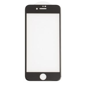 Tempered Glass Shield (0.33mm) for iPhone 7 / iPhone 8 (3D) (NO Retail Packaging) - Black