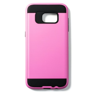 Fashion Style Case for Samsung Galaxy S7 Edge - Pink