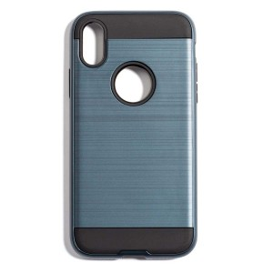 Fashion Style Case for iPhone X - Blue