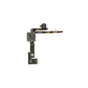 Headphone Jack Flex Cable (w/ Daughter PCB Board) for iPad 2 (2011 Version) (WiFi & Cellular Version)