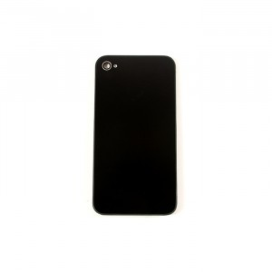 Back Glass for iPhone 4 GSM (Generic) - Black