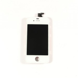 LCD & Digitizer Frame Assembly for iPhone 4 GSM - White