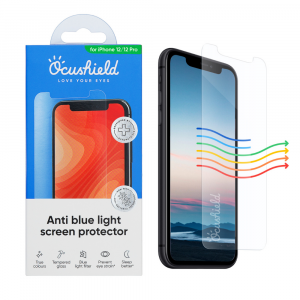 Ocushield Anti-Blue Light Tempered Glass for iPhone 12 / iPhone 12 Pro