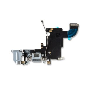 Charging Port Flex Cable for iPhone 6S - Dark Gray