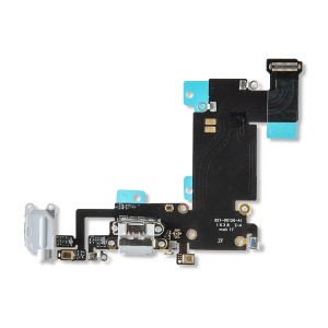 Charging Port Flex Cable for iPhone 6S Plus - Light Gray