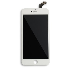 LCD Frame Assembly for iPhone 6 Plus (BASIC) - White (Bulk Pricing Available)
